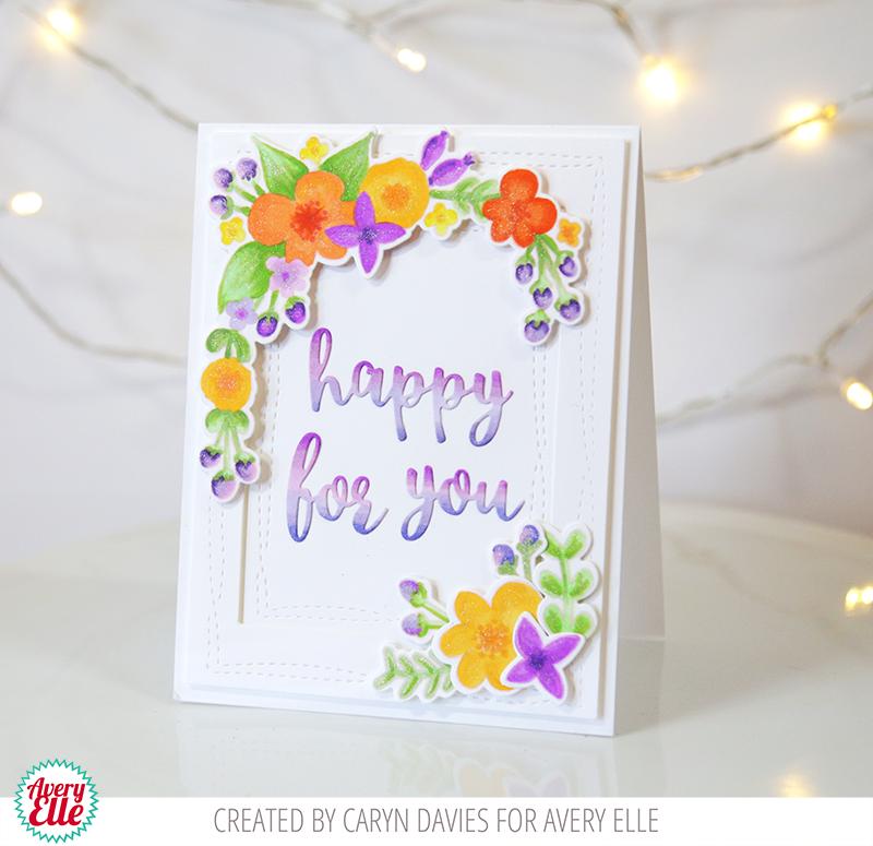 Avery Elle – Floral Frame